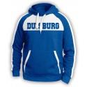 Duisburg Fan Hoodie Blau Weiss