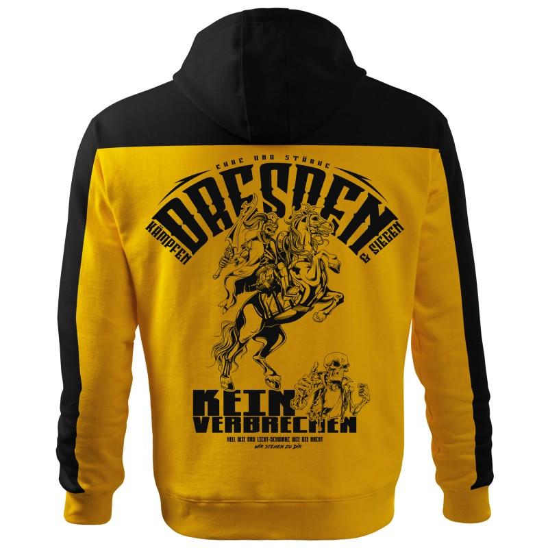 Dresden Fan Kapuzen Jacke Original Broshirts.