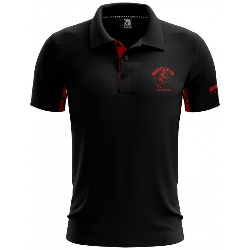 Manchester Fan Polo Shirt