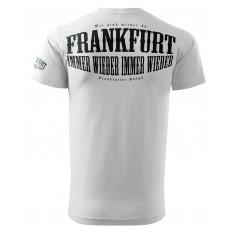 Frankfurt Fan Shirt Weiss Schwarz