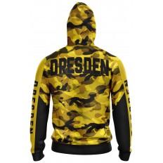 Dresden Jacke Gelb Schwarz Camouflage