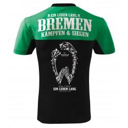 Grün Weiß Bremen Fan Shirt