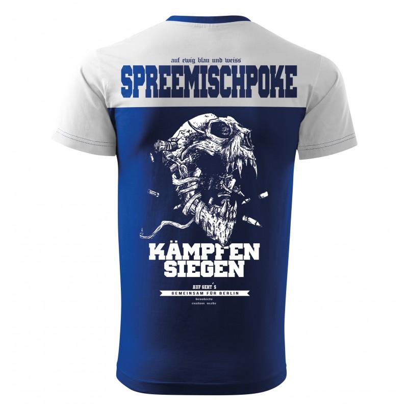 Berlin Fan Shirt Blau Weiss