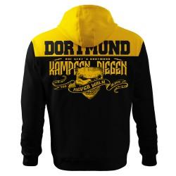 Dortmund Fan Hoodie Schwarz Gelb