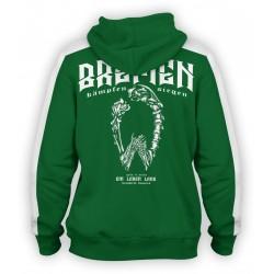 Bremen Grün Weiss Jacke