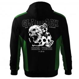 Gladbach Fan Jacke Skull