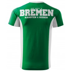 Bremen Grün Weiß Shirt