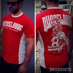 Düsseldorf Fan T-Shirt Rot Weiß