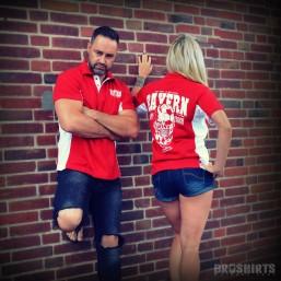 Bayern Polo Shirt Damen und Herren