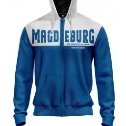 Magdeburg Fan Jacke mit Kapuze