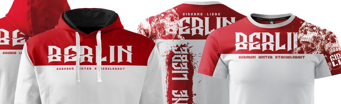 Berlin Rot Weiss Fan Bekleidung